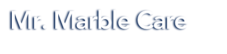 Mr. Marble Care logo
